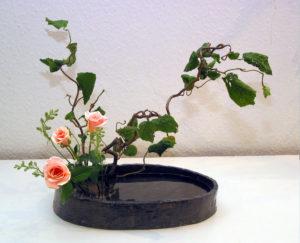 Grundstil mit Rosen
