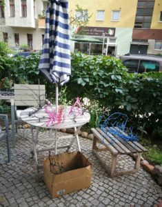 Ikebana in Schoeneberg2