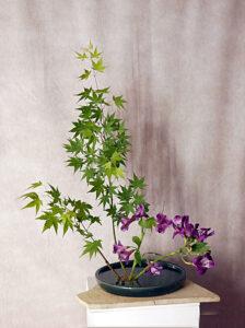 Ikebana GrundStil aufrecht